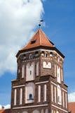 Schloss-Kontrollturm Lizenzfreie Stockfotografie