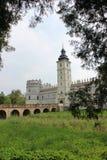 Schloss in Krasiczyn Stockbild