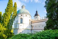 Schloss Krasiczyn Lizenzfreies Stockbild