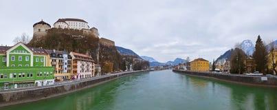 Schloss Kufstein in Österreich Lizenzfreie Stockbilder