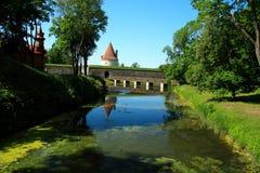 Schloss in kuresaaree III Lizenzfreies Stockbild