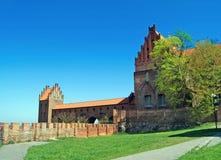 Schloss in Kwidzyn. Polen Lizenzfreies Stockfoto
