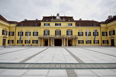 Schloss Laxenburg Castle in  Austria, Europe. Ancient architecture. Royalty Free Stock Photo