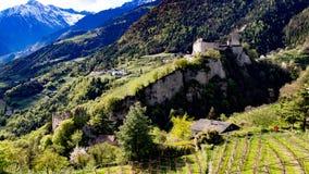 Schloss le Tirol Images stock