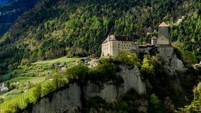 Schloss le Tirol Photos libres de droits