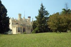 Schloss in Lednice, CZ Stockbild
