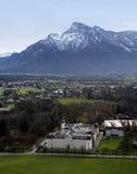 Schloss Leopoldskron slott, Salzburg, Österrike Royaltyfri Foto