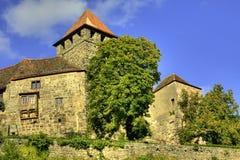 Schloss Lichtenberg lizenzfreie stockbilder