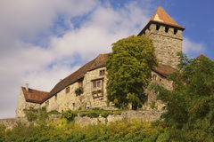Schloss Lichtenberg stockfotografie