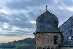 Schloss Lichtenberg Thallichtenberg lizenzfreies stockfoto