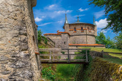 Schloss Lichtenstein kasztel Obrazy Stock