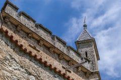 Schloss Lichtenstein kasztel Obraz Royalty Free