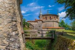 Schloss Lichtenstein slott Arkivbilder