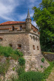 Schloss Lichtenstein slott Royaltyfri Bild