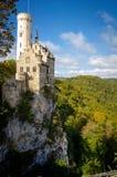Schloss Liechtenstein stockbilder