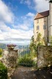 Schloss Liechtenstein stockbild