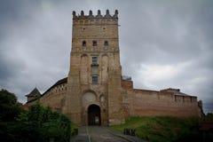 Schloss Ljuborta stockfotos