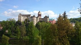Schloss Loket Lizenzfreies Stockfoto