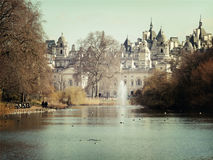 Schloss in London Lizenzfreies Stockfoto
