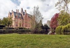 Schloss Loppem lizenzfreie stockfotografie