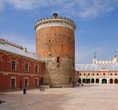Schloss in Lublin, Polen Stockbilder