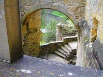 Schloss in Luxemburg stockbild