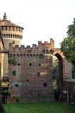 Schloss in Mailand Lizenzfreie Stockfotos
