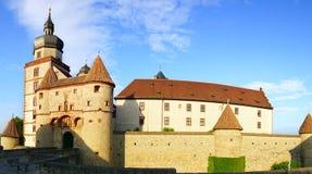 Schloss Marienburg. Wurzburg, Germania Fotografia Stock