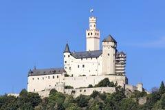 Schloss Marksburg lizenzfreie stockfotos