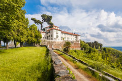 Schloss Masino; Piemont; Italien; Turin, Stockfotos