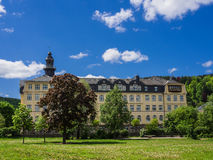 Schloss Meiningen lizenzfreies stockbild