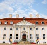 Schloss Meseberg is a Baroque castle Royalty Free Stock Photo