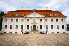 Schloss Meseberg is a Baroque castle Stock Photos