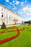 Schloss Mirabell with Mirabellgarten in Salzburg, Austria Stock Photo