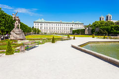 Schloss Mirabell Palace, Salzburg Stock Photos