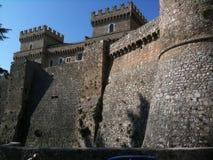 Schloss mit parlament, San Marino stockbilder