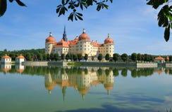Schloss Moritzburg stockfotos