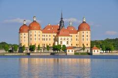 Schloss Moritzburg Sachsen Stockfoto