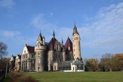 Schloss in Moszna, Polen Lizenzfreie Stockfotos