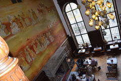 Schloss in Moszna, Polen Lizenzfreies Stockbild