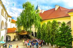Schloss 08 Mukachevo Palanok stockfotografie