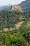 Schloss Murol, Frankreich Stockfotografie