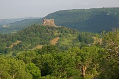 Schloss Murol, Frankreich Stockbilder
