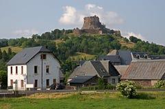 Schloss Murol, Frankreich Lizenzfreie Stockbilder