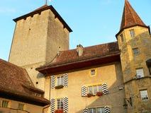 Schloss, Murten ( Schweiz ) Stock Photos