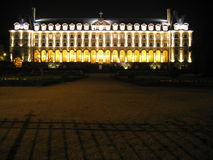 Schloss nachts Stockfoto