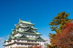 Schloss Nagoyas, Japan Stockbild