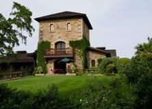 Schloss in Napa Valley stockfotos