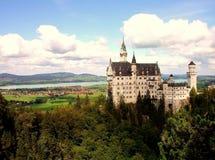 Schloss Neuschwanstein royalty-vrije stock afbeelding