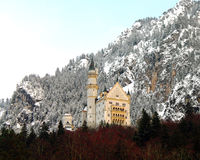 Schloss Neuschwanstein Stock Foto